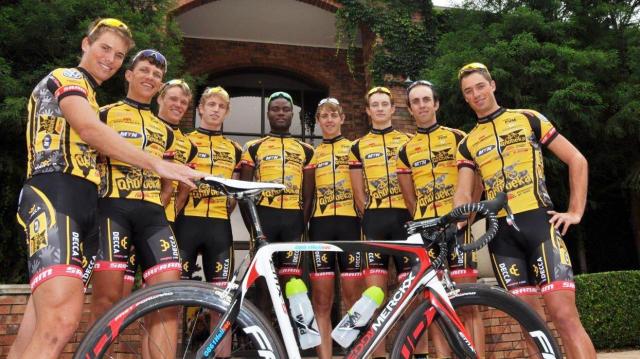 Cyclisme: Une équipe africaine sur le Tour de France   www