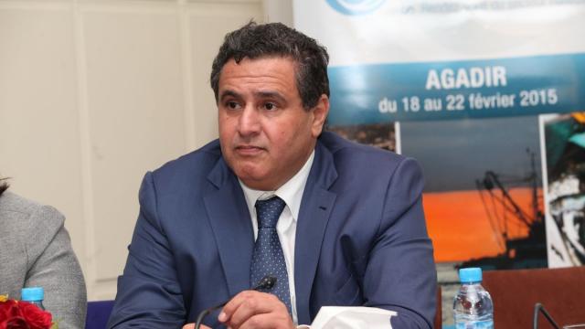 Aziz Akhannouch Ministre de l'Agriculture et de la Peche