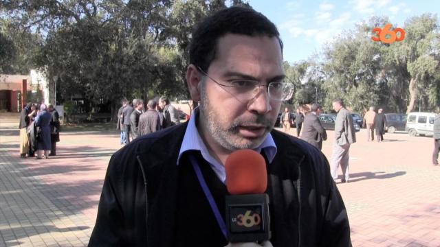Cover video.. Mostafa Elkhalfi et la censure du journaux
