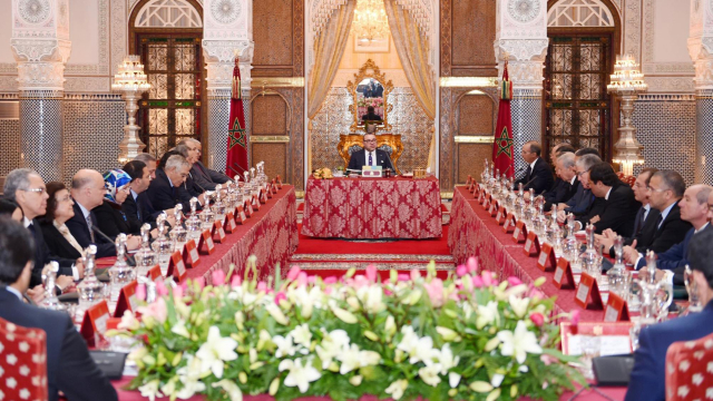 Mohammed VI Conseil des ministres Fès