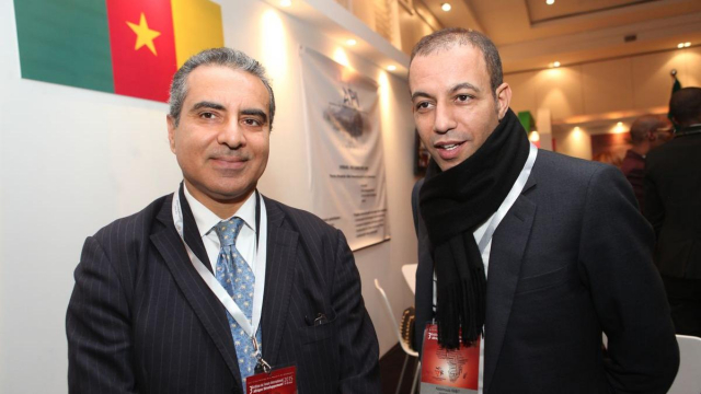 Hassan OURIAGLI  PDG SNI et  Abdelmoula Rabit président RATIB INVEST