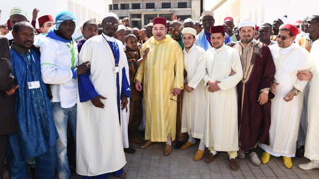 Roi-inauguration-Institut Mohammed VI de formation des Imams, morchidines et morchidates