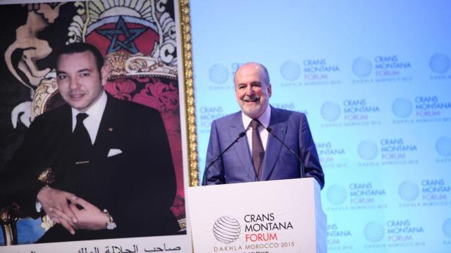 Jean-Paul Carteron  President Crans Montana Forum