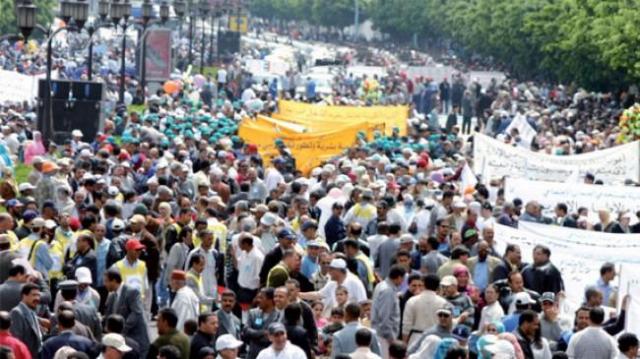 fonctionnaires grève