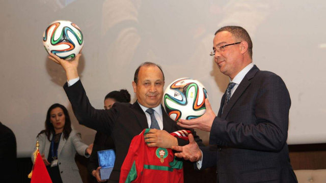 Abdeslam Ahizoun et Lekjaa Fouzi