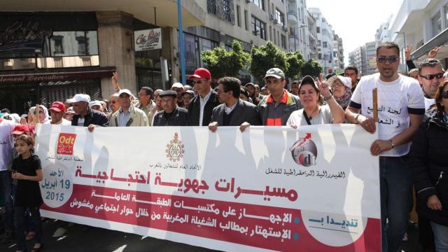 Dialogue social Une marche des syndicats