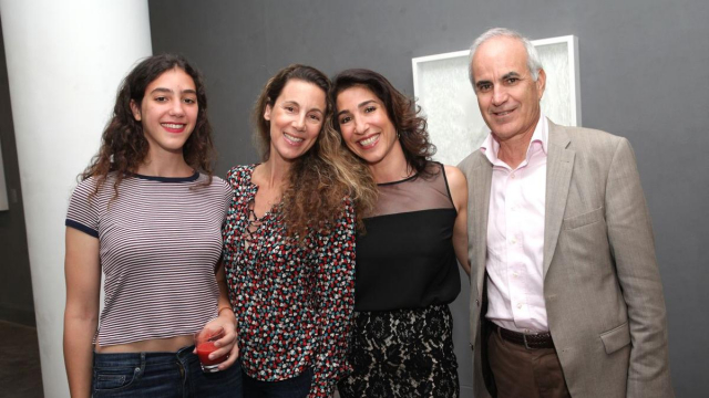 Malak Yacoubi.Meryem Sebti.Nadia Amor,Atelier21 et Ali Ababou Président de la fondation Zakoura.