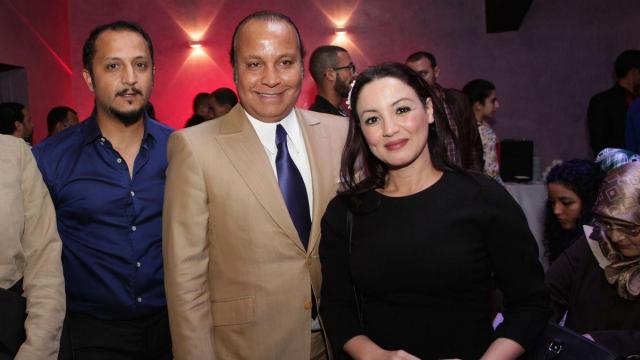 Mohammed Marouazi. El Hadi Chaibainou,DG GPBM. et Sana Akroud.
