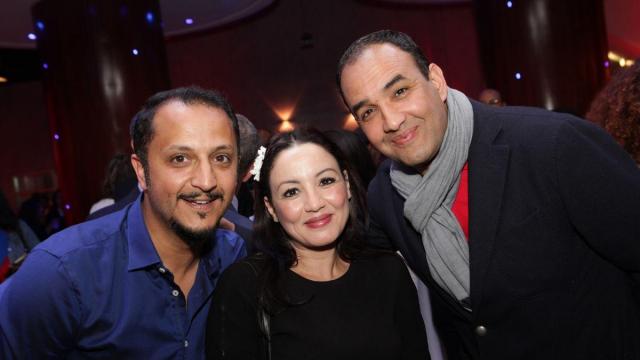 Mohammed Marouazi. Sana Akroud et Rachid Elouali.
