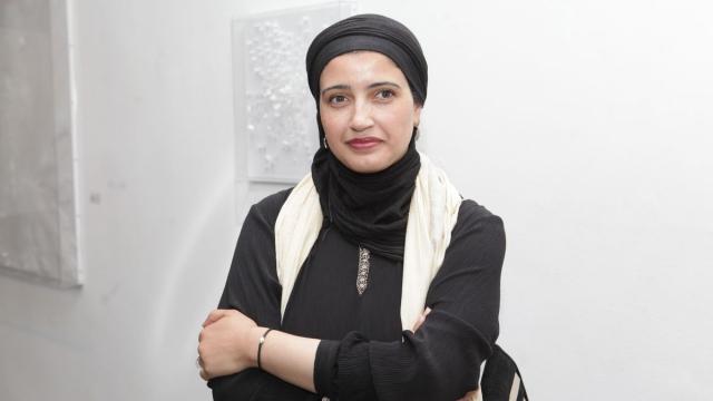 Safaa Erruas, artiste plasticienne.
