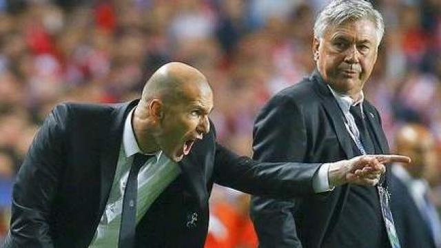 Ancelotti-Zidane