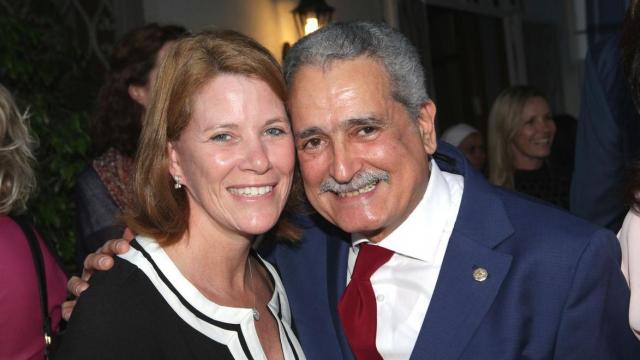 Andrea Appell et Boubker Mazoz.