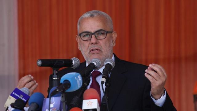 Abdelilah Benkirane,  UNTM  Casablanca  1 mai 2015