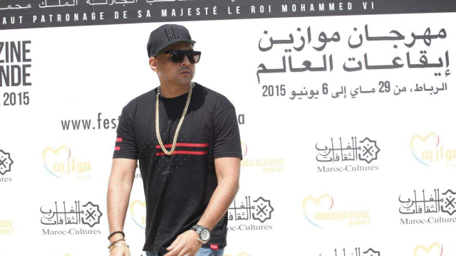 Sean Paul ,Photo Call.Rabat 30 mai 2015