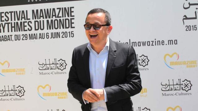 Yuri Buenaventura ,Photo Call.Festival Mawazine Rabat mai 2015