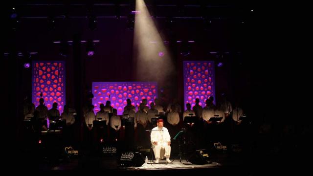 Abdelhadi Belkhayat,Maroc au Theatre National MOHAMMED V Rabat 4 Juin 2015.