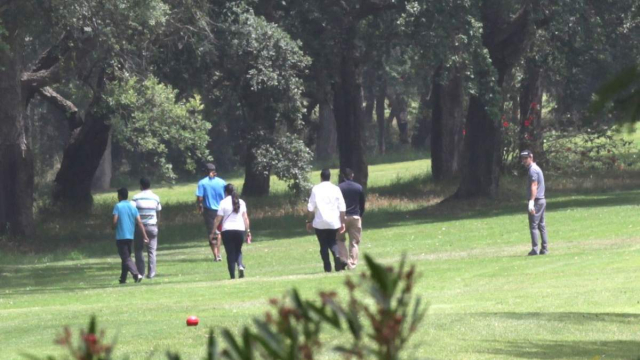 Maroon 5,USA au golf royal dar essalam Rabat 5 Juin 2015.