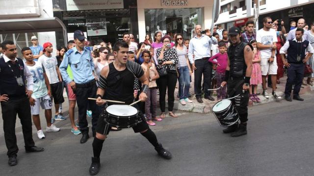 Spectacles de Rues BRINCADEIRA,BRESIL  . Rabat 6 Juin 2015