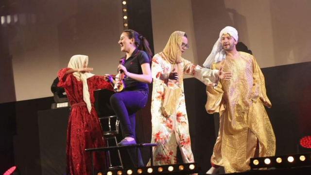 Marrakech du Rire,HUMOURAJI, un gala 100% marocain.