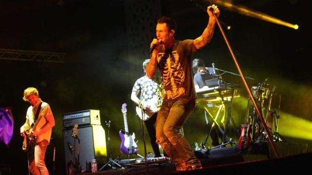 Maroon 5,USA.  OLM SOUISSI Rabat 6 Juin 2015