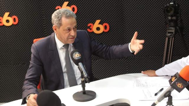 Mohand Laenser,SG MP au 360 Casablanca 17 Juin 2015.