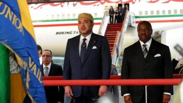 Mohammed VI Ali Bongo