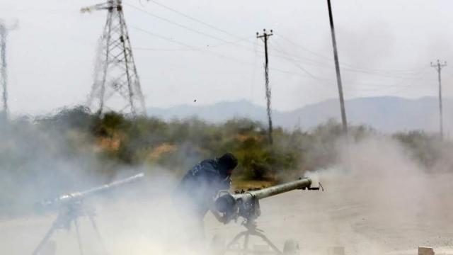 Combattant de la milice Fajr Libya