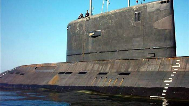sous-marin algérien