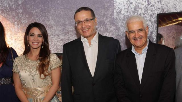 Diana Haddad. Mohamed Boussaïd ministre de l'Economie et des Finances et Le Wali d'Agadir Mohamed El Yazid Zellou.