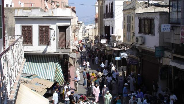 Souk Dakhel de Tanger