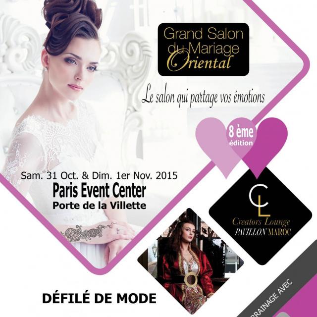 Le grand salon du mariage oriental de paris une ode l - Salon du mariage oriental paris 2015 ...