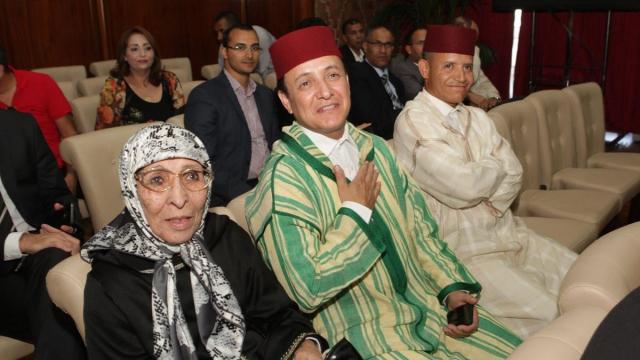 Haja El Hamdaouia,chanteuse du Chaàbi et Ouled Bouazzaoui,aita