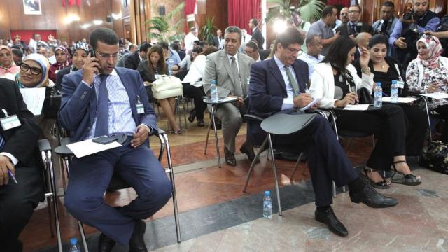 haykar PJD et Mustapha Bakouri PAM