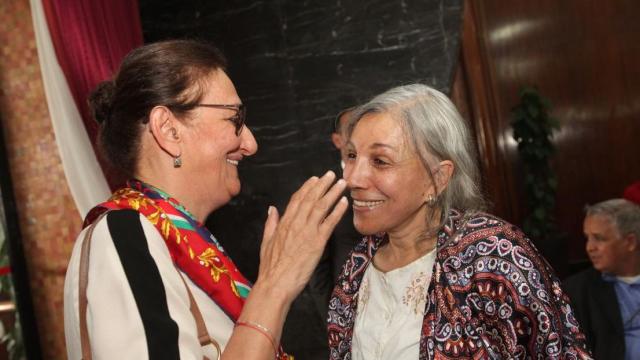 leila Benhima Cherif et Naima Lamcharki