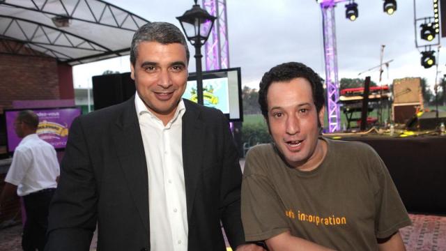 Mohamed Jouahri et  MOMO du L'Boulevard