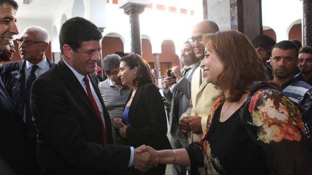 Mustapha Bakkoury et Fatima Tihihite