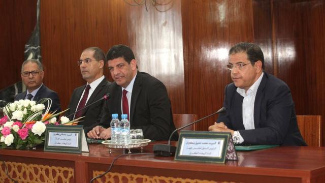 Mustapha Bakkoury et Mohamed Chafik Benkirane