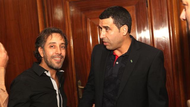 Said Mosker et Noureddine Naybet,ex footballeur
