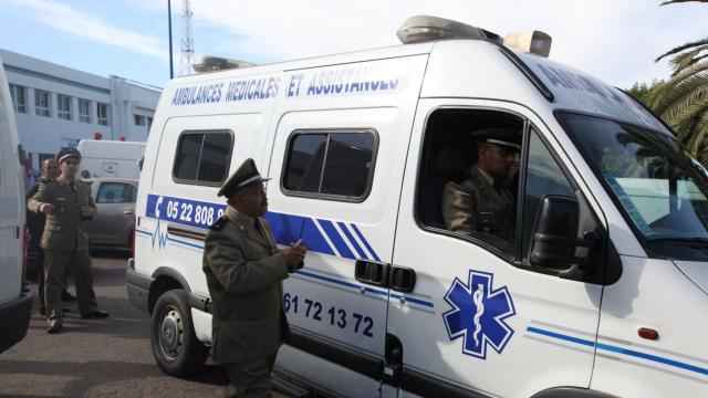 Agression agent forces auxilliaires casablanca urgences5