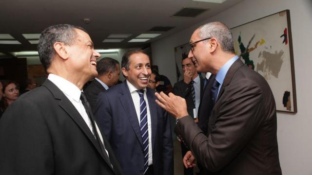 Boubker Jai. Hamid Belfadil et Hassan Bertal