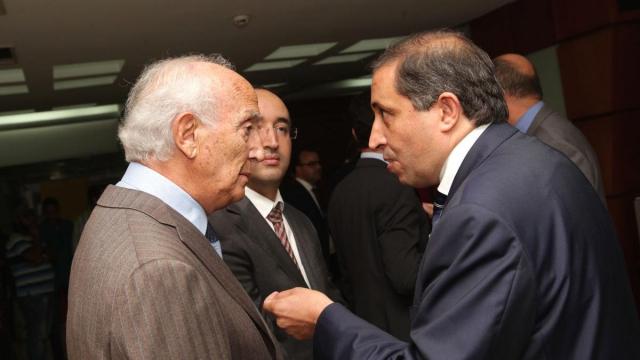 Brahim Zniber et Hamid Belfadil, D.G de l'AMDI