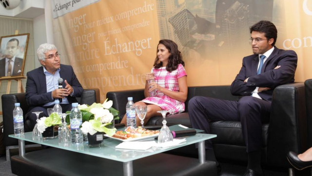 Hamid Bouchikhi,Professeur Business School,Paris.Fatim Zahra Oukacha et Mamoune Bouhdoud