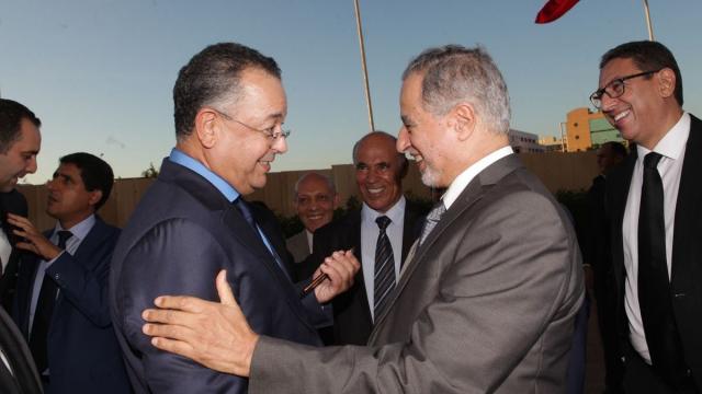 Lahcen HADDAD, Ministre du Tourisme et Driss ALAOUI MDAGHRI,président Salima Holding