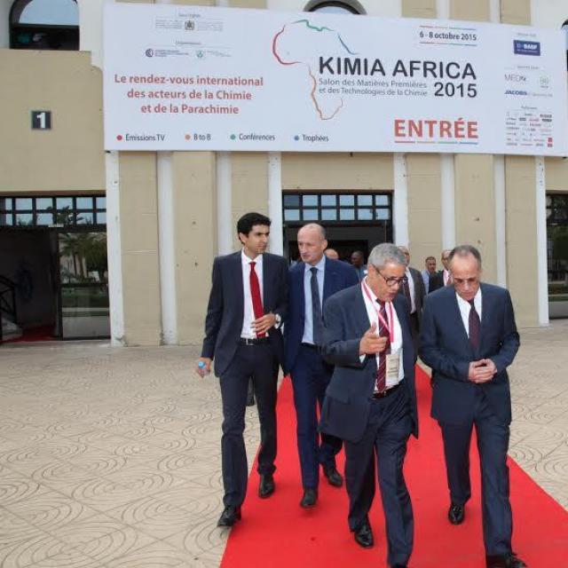 L'industrie chimique et parachimique à l'honneur au salon KIMIA AFRICA9