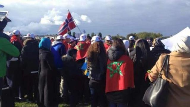 Manif de Marocains à Stockholm2
