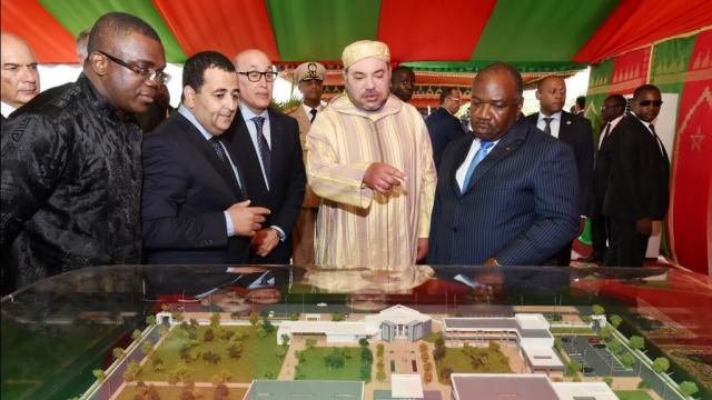 Mohammed VI roi Ali Bongo Libreville