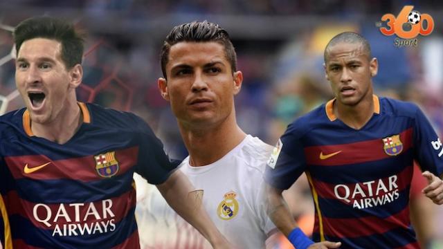 Les 3 finalistes Ballon d'Or 2015