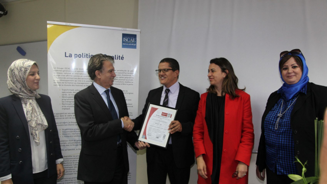 ISCAE Certification ISO