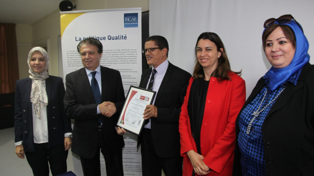 ISCAE Certification ISO 2
