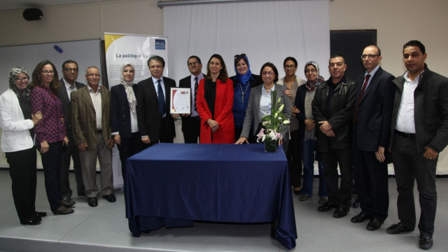 ISCAE Certification ISO 3